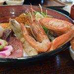 鳥取砂丘 海鮮丼