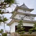 丸亀城の頂上